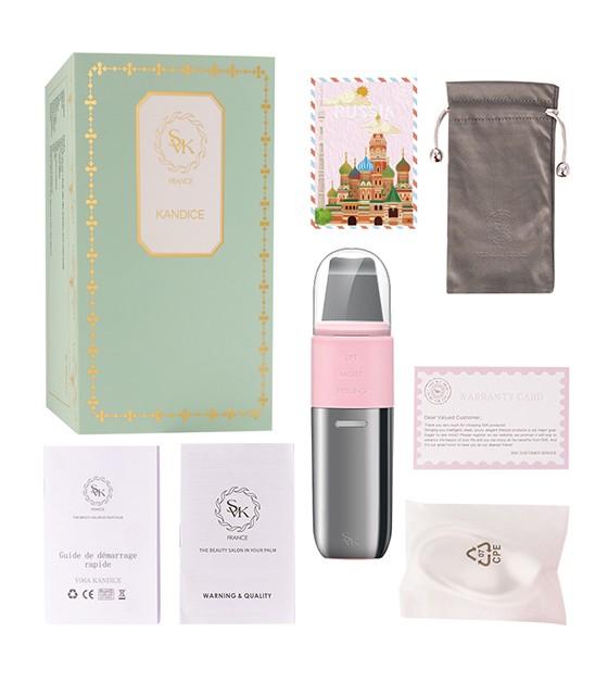 SVK France Kandice 3in1 ultrahangos bőrtisztító - pink színben