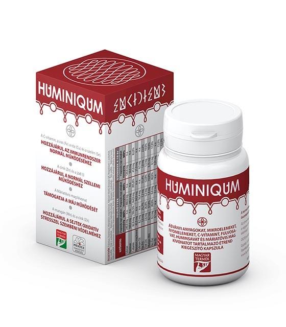 Huminiqum étrendkiegészítő kapszula - 120 db