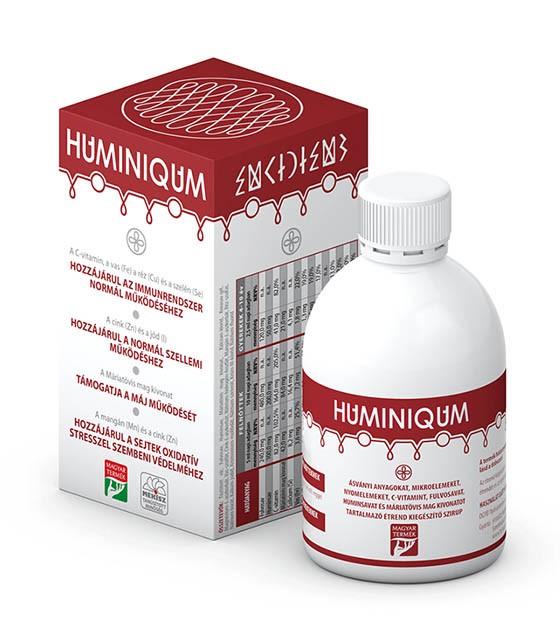 Huminiqum folyékony étrendkiegészítő - 250 ml