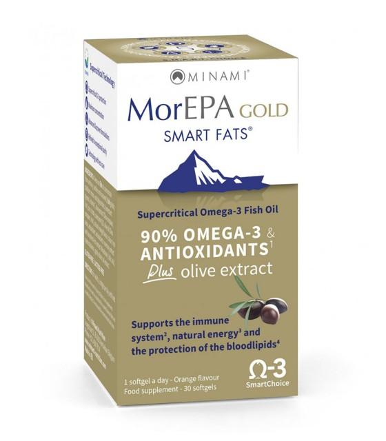 MorEPA Gold Halolaj kapszula - 60db