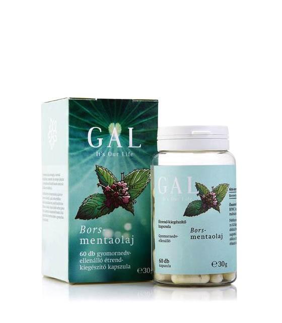 GAL Borsmentaolaj kapszula - 60db