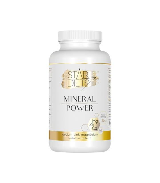 StarDiets Mineral Power tabletta - 60db