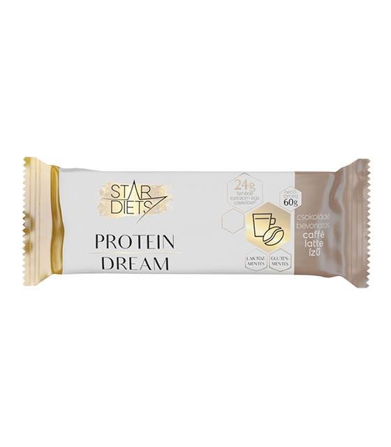 StarDiets Protein Dream fehérjeszelet – caffe latte íz