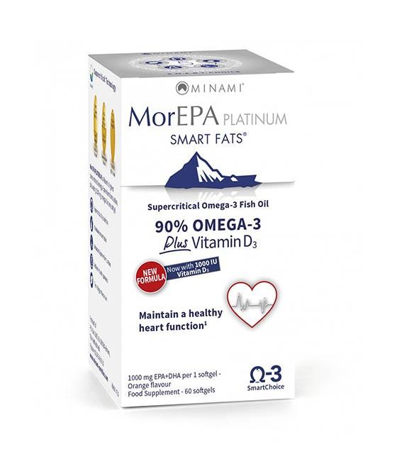MorEPA Platinum Halolaj kapszula - 60db