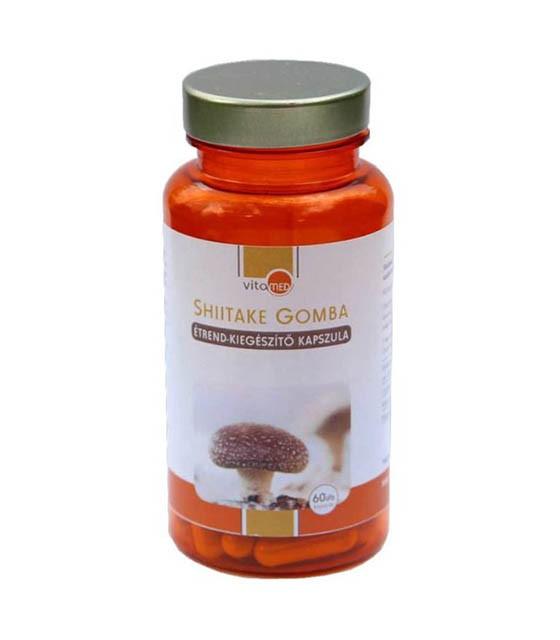 Vitamed Shiitake gomba étrend-kiegészítő kapszula - 60db