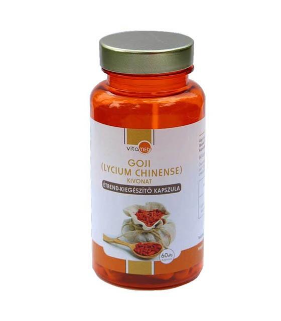 Vitamed Goji kivonat étrend-kiegészítő kapszula - 60db