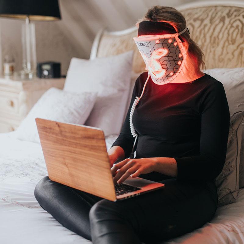 faceLITE LED maszk