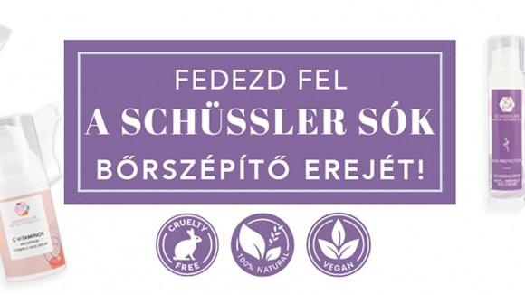 Fedezd fel a Schüssler sók bőrszépítő erejét!